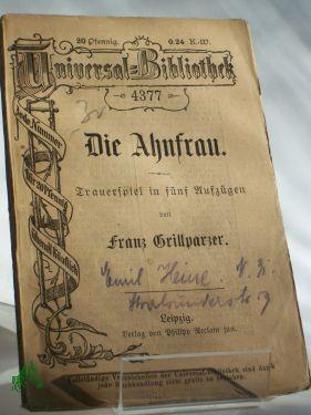 Franz Grillparzer fabeln
