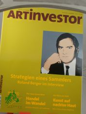 3/2003 Strategie eines Sammlers Roland Berger im Interview