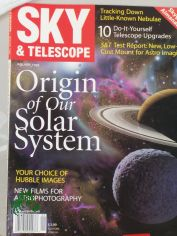 1/1999, Origin of our Solar System