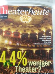 2/2003, 4,4% weniger Theater?