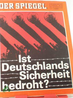 38/1968, Ist Deutschlands Sicherheit bedroht