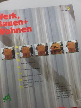 5/1998, Bauten sprechen über Raum