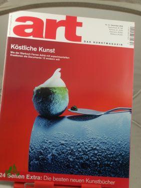 12/2006, Köstliche Kunst