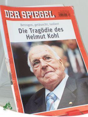 39/2012, Die Tragödie des Helmut Kohl